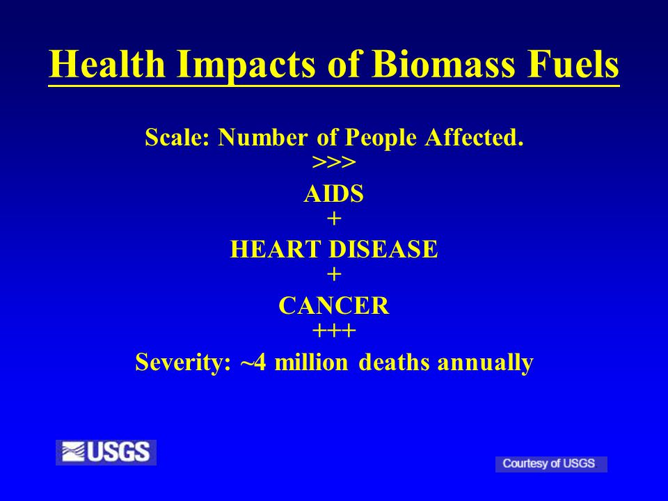 Health Impacts of Biomass Fuels