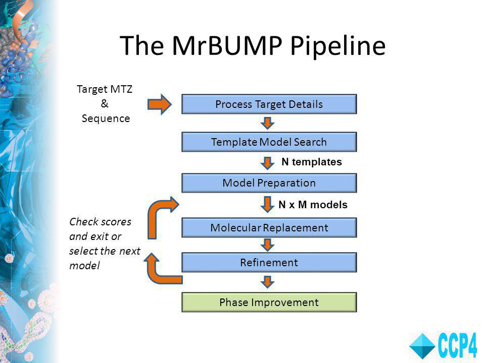 The MrBUMP Pipeline Target MTZ & Sequence Process Target Details