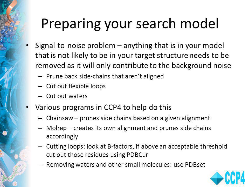 Preparing your search model