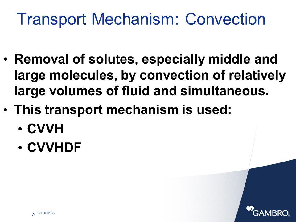 Transport Mechanism: Convection