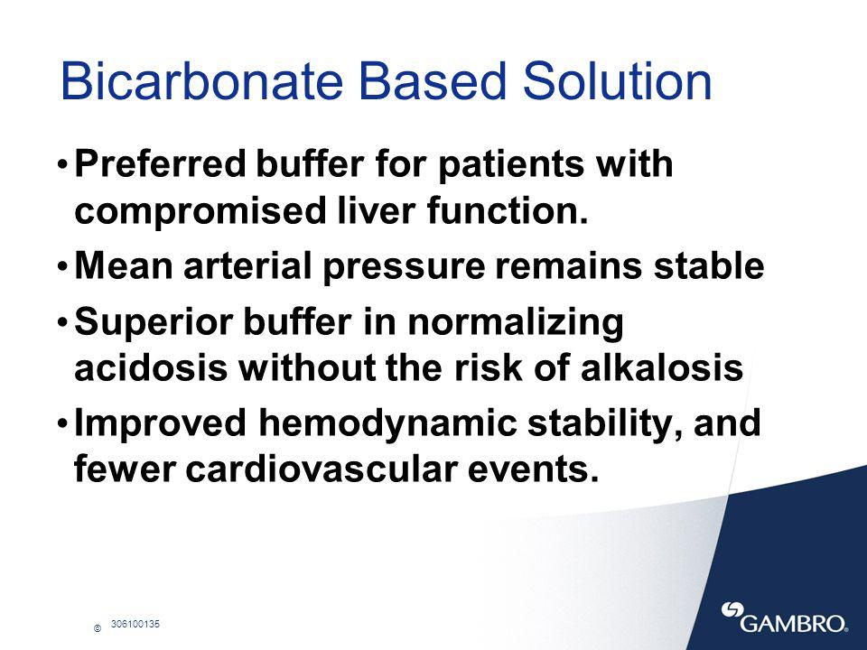 Bicarbonate Based Solution