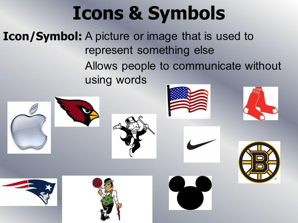 Icons & Symbols Icon/Symbol: