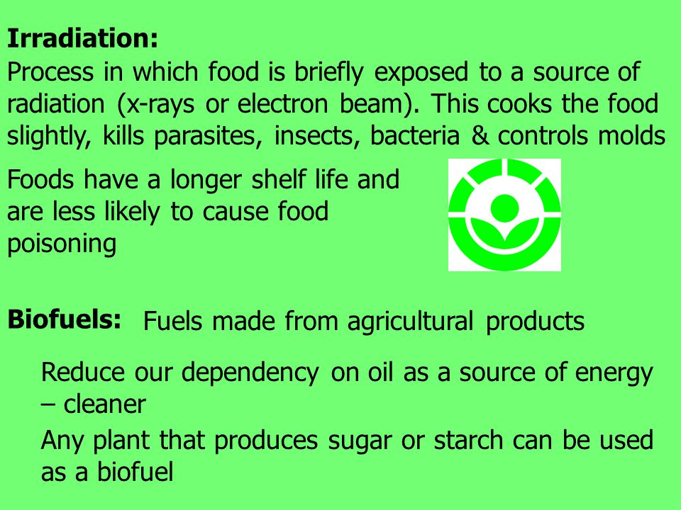 Irradiation: