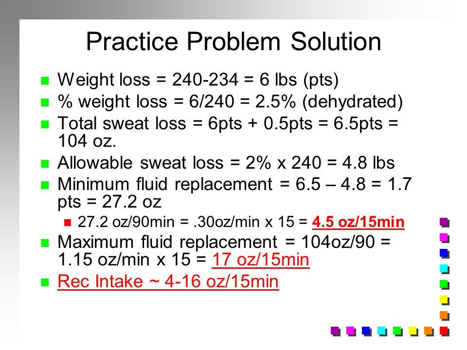 Practice Problem Solution