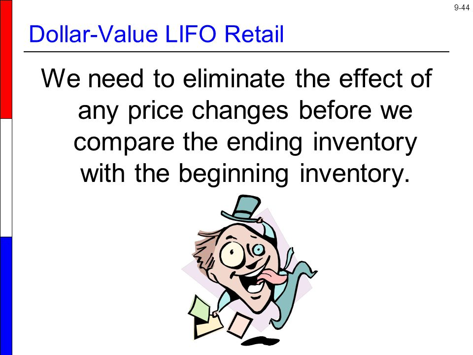 Dollar-Value LIFO Retail