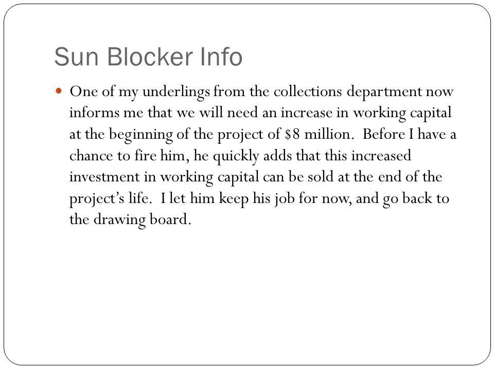 Sun Blocker Info
