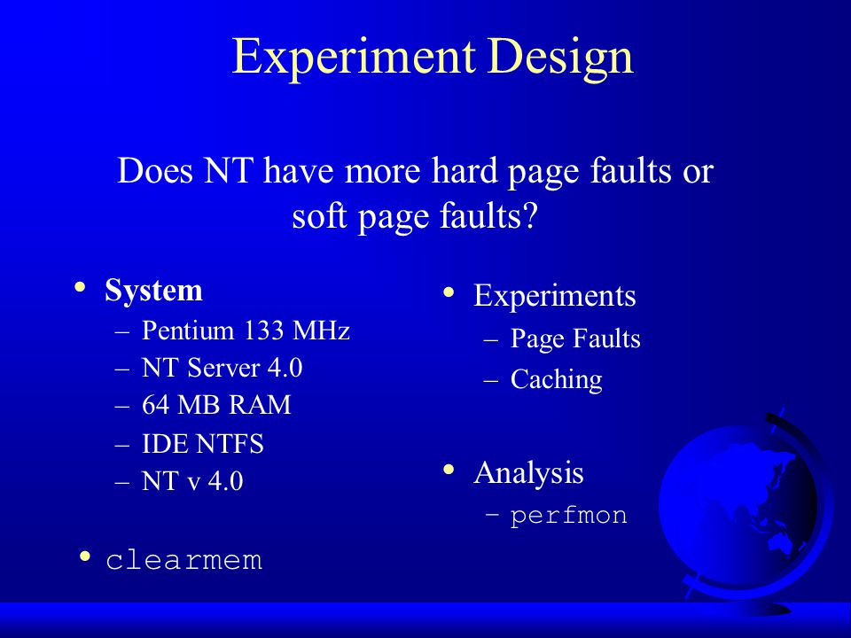 Does NT have more hard page faults or soft page faults