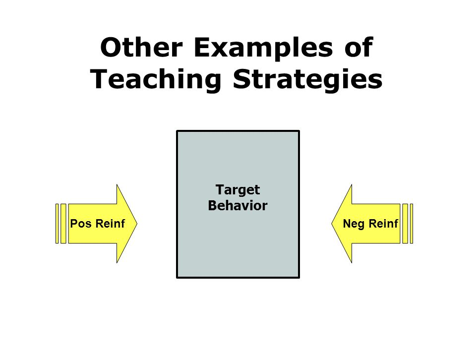 Other Examples of Teaching Strategies