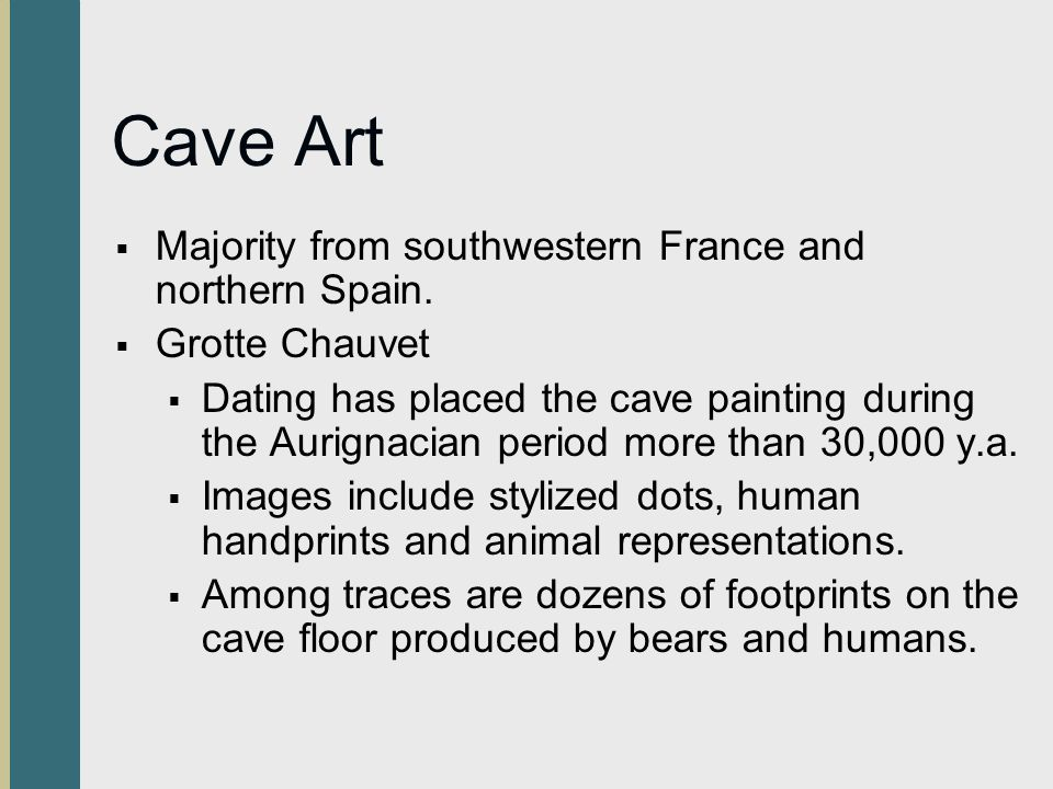 Cave Art Majority from southwestern France and northern Spain.