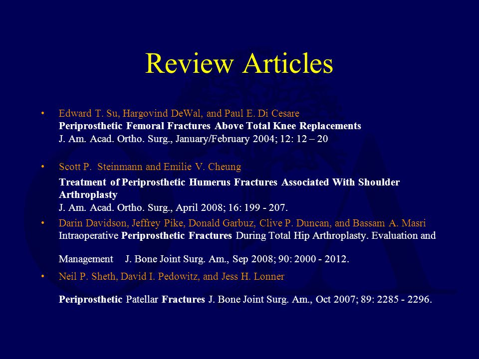 Review Articles