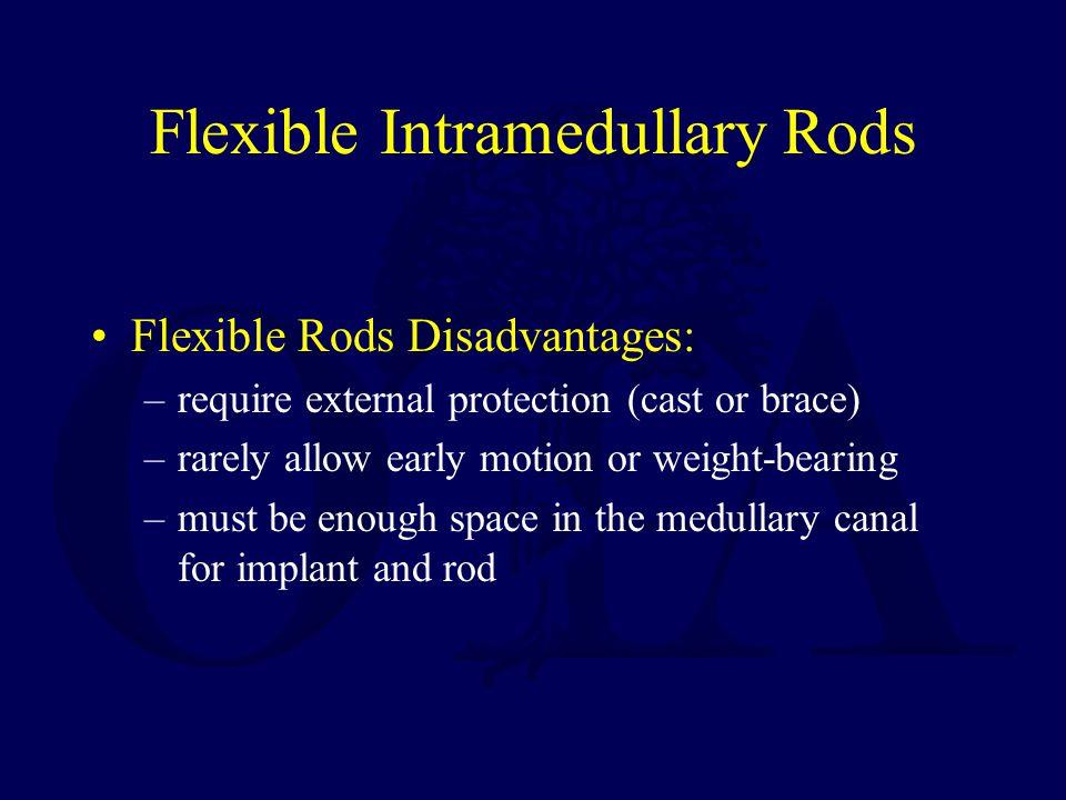 Flexible Intramedullary Rods