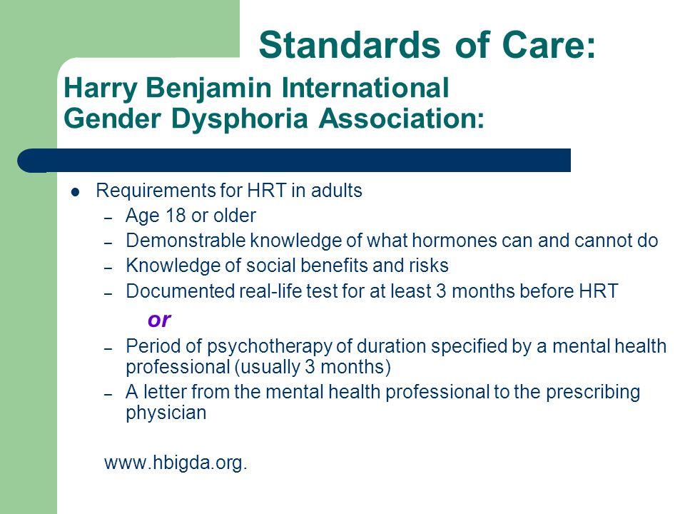 Harry Benjamin International Gender Dysphoria Association: