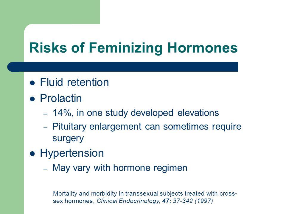 Risks of Feminizing Hormones