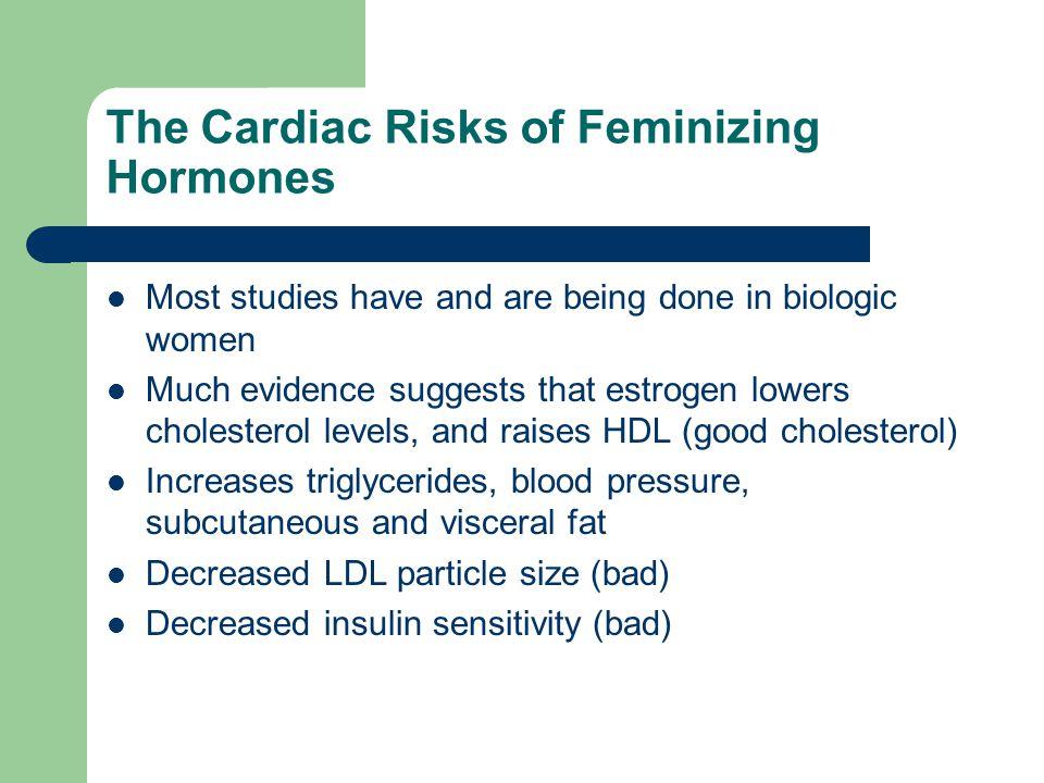 The Cardiac Risks of Feminizing Hormones