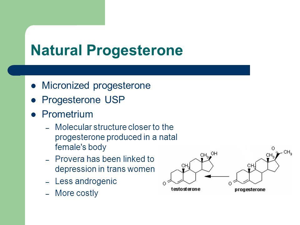 Natural Progesterone Micronized progesterone Progesterone USP