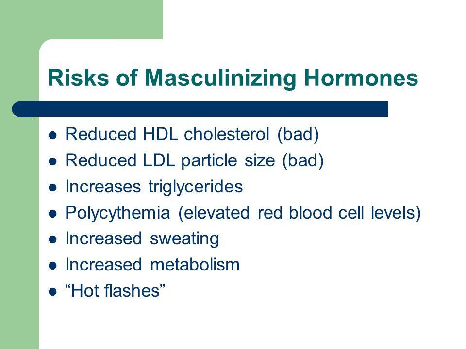Risks of Masculinizing Hormones
