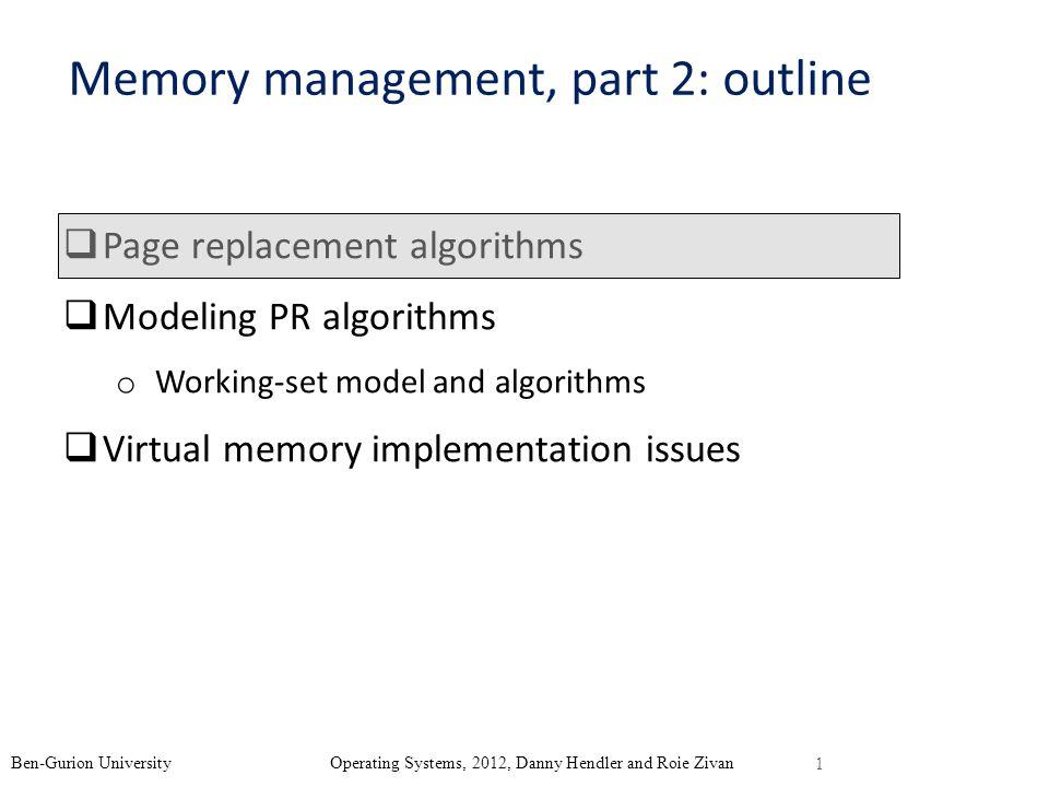 Memory management, part 2: outline