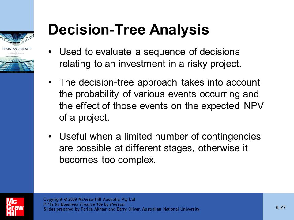 Decision-Tree Analysis