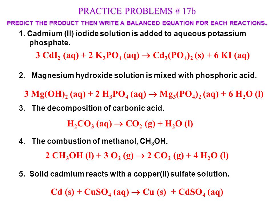 Double Displacement Or Replacement Reactions Ppt Video