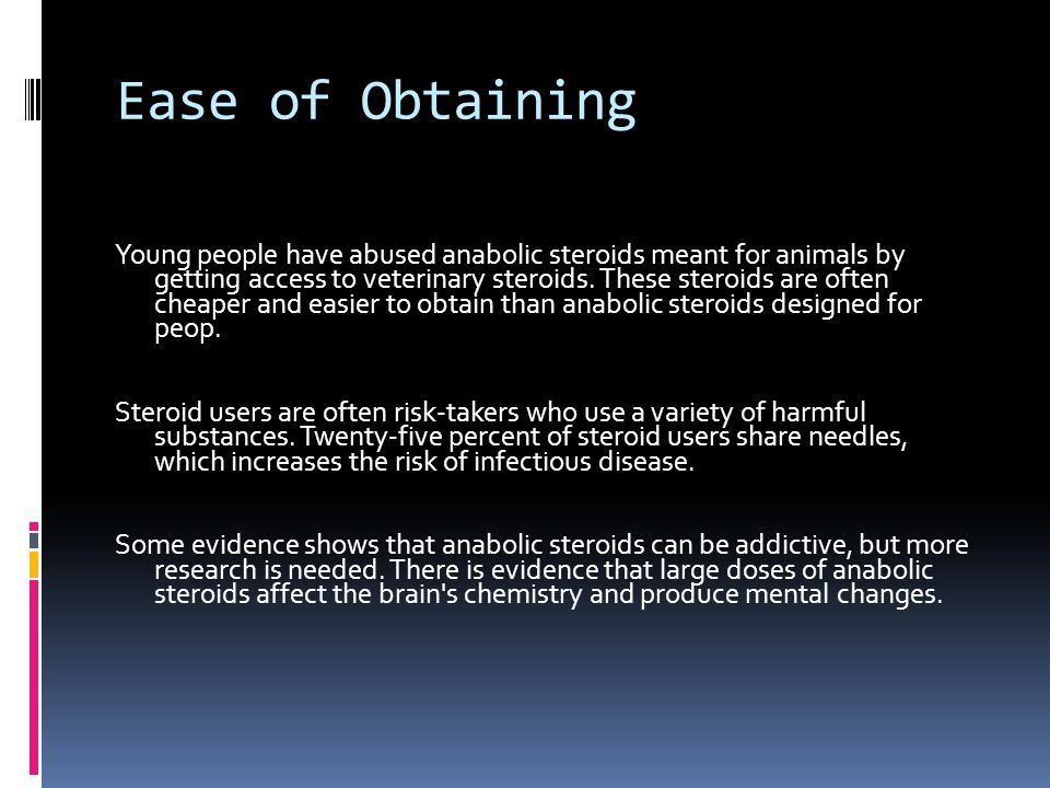 Ease of Obtaining
