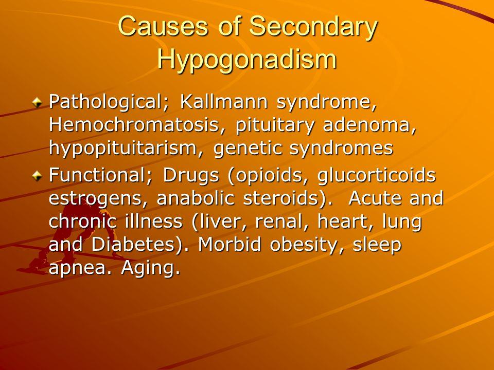 Causes of Secondary Hypogonadism