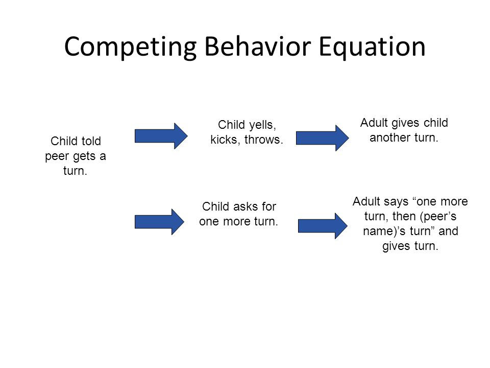 Competing Behavior Equation