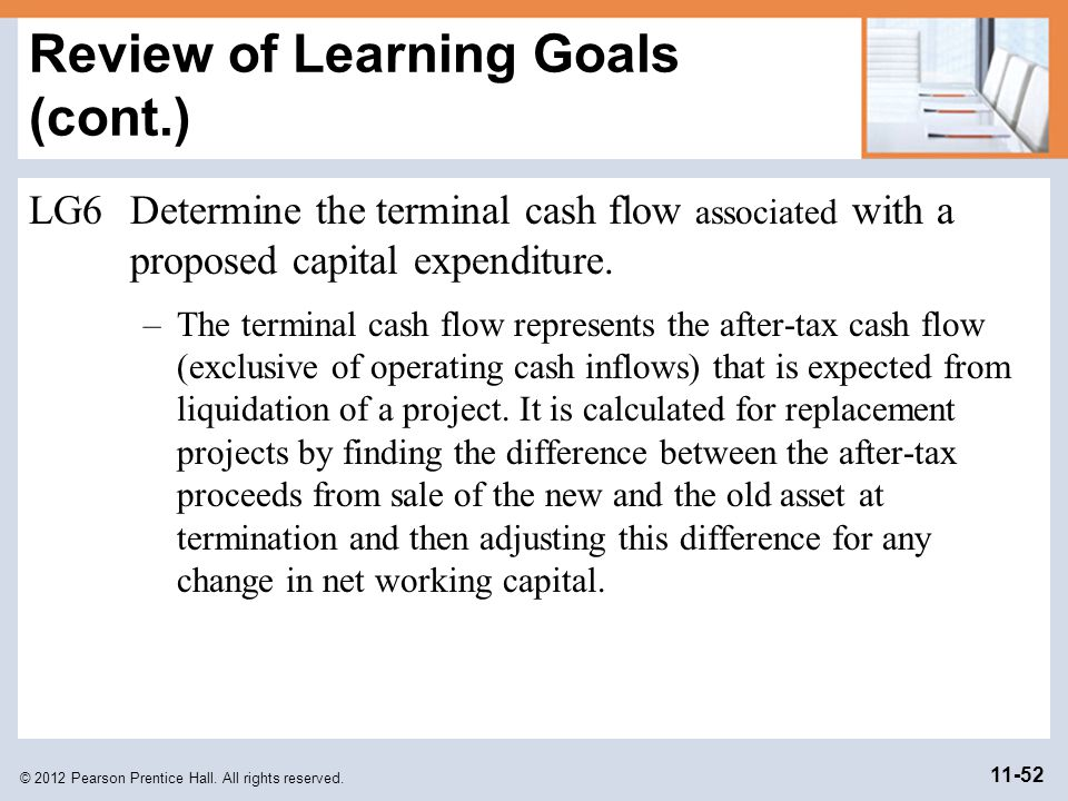 Review of Learning Goals (cont.)