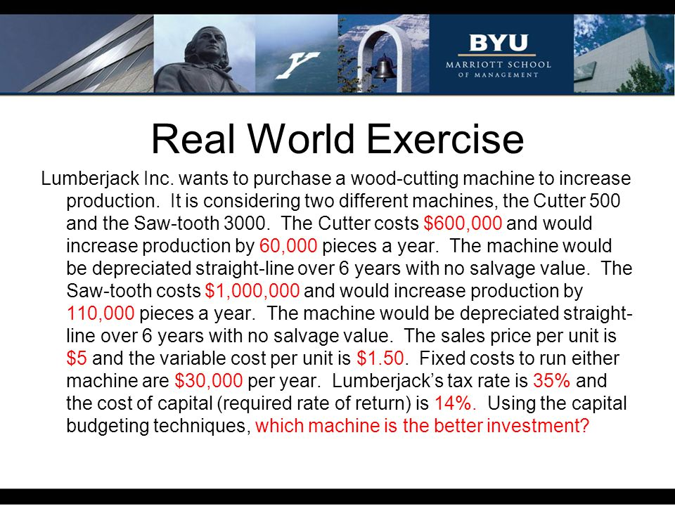 Real World Exercise