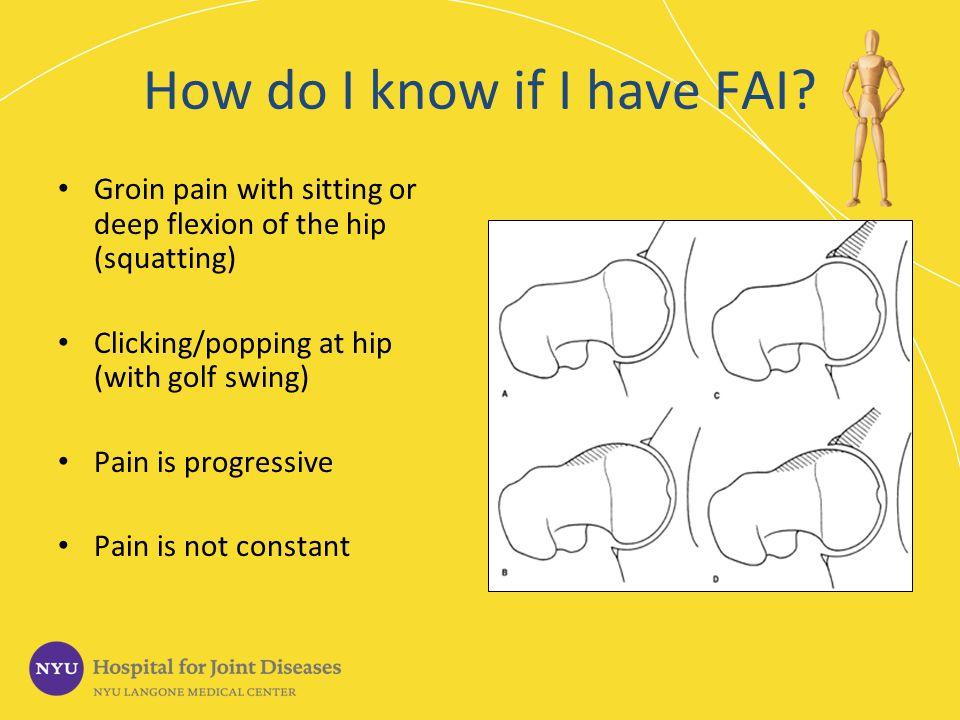 How do I know if I have FAI