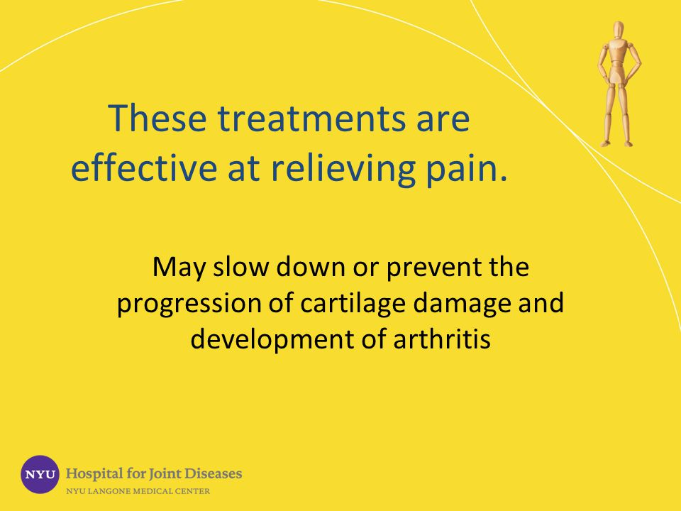 These treatments are effective at relieving pain.
