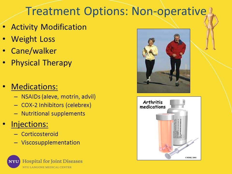 Treatment Options: Non-operative