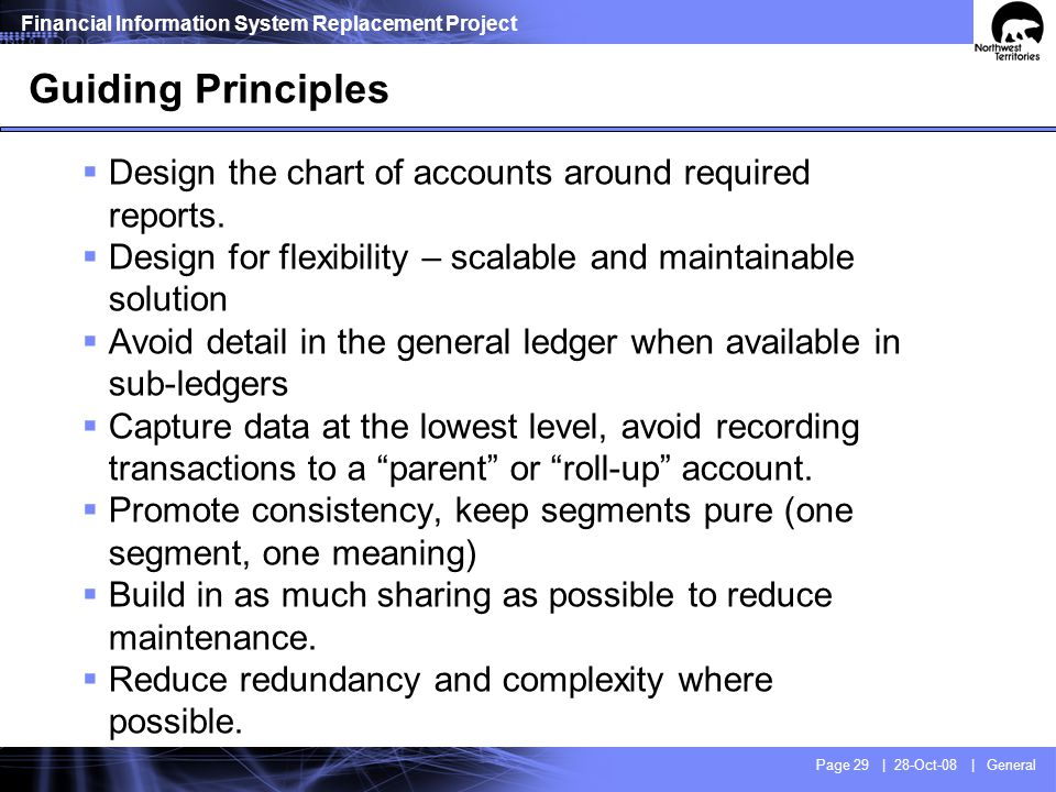 COA Redesign - Challenges