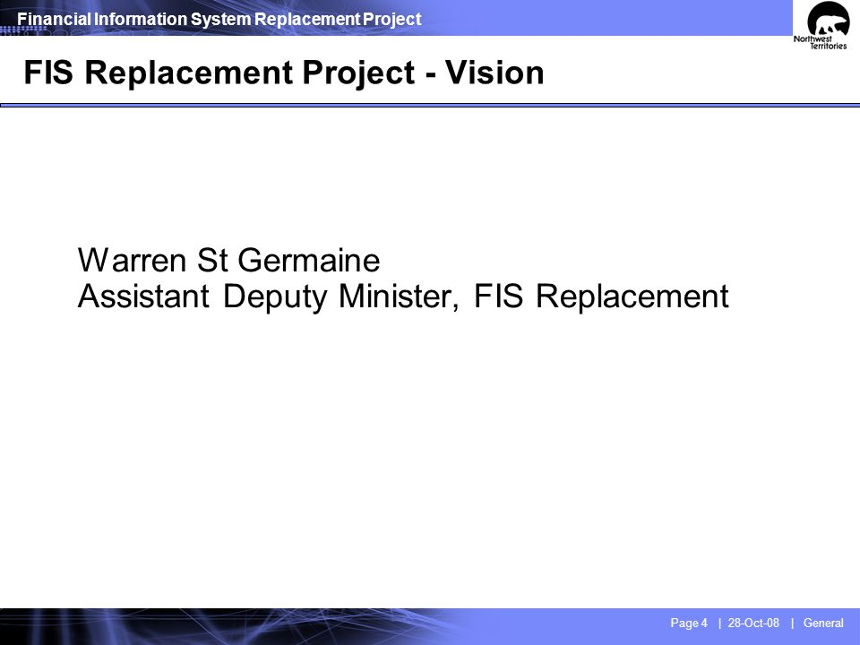 FIS Replacement Project