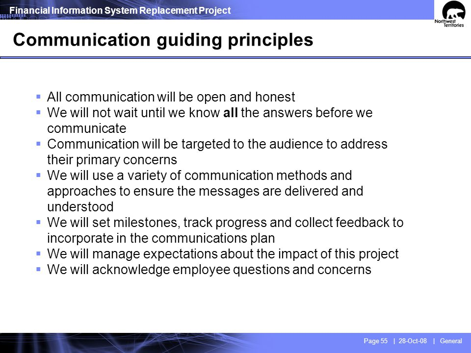 Some of the ways we will communicate with you
