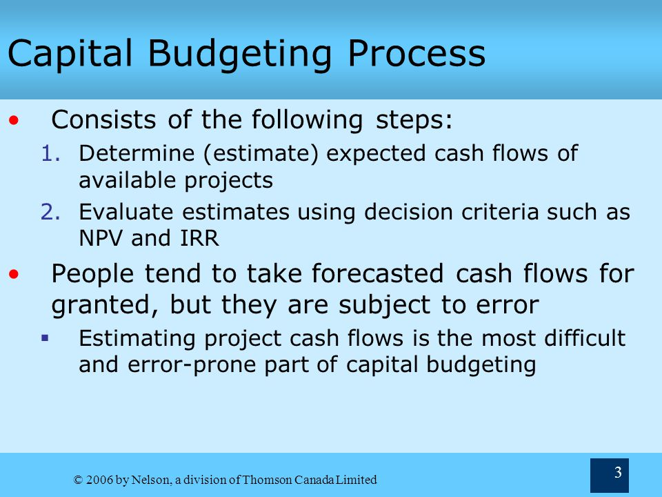 capital budgeting techniques Accounting rate of return or arr is one of the most popular capital budgeting techniques learn how to calculate arr using the two formulas for this value.