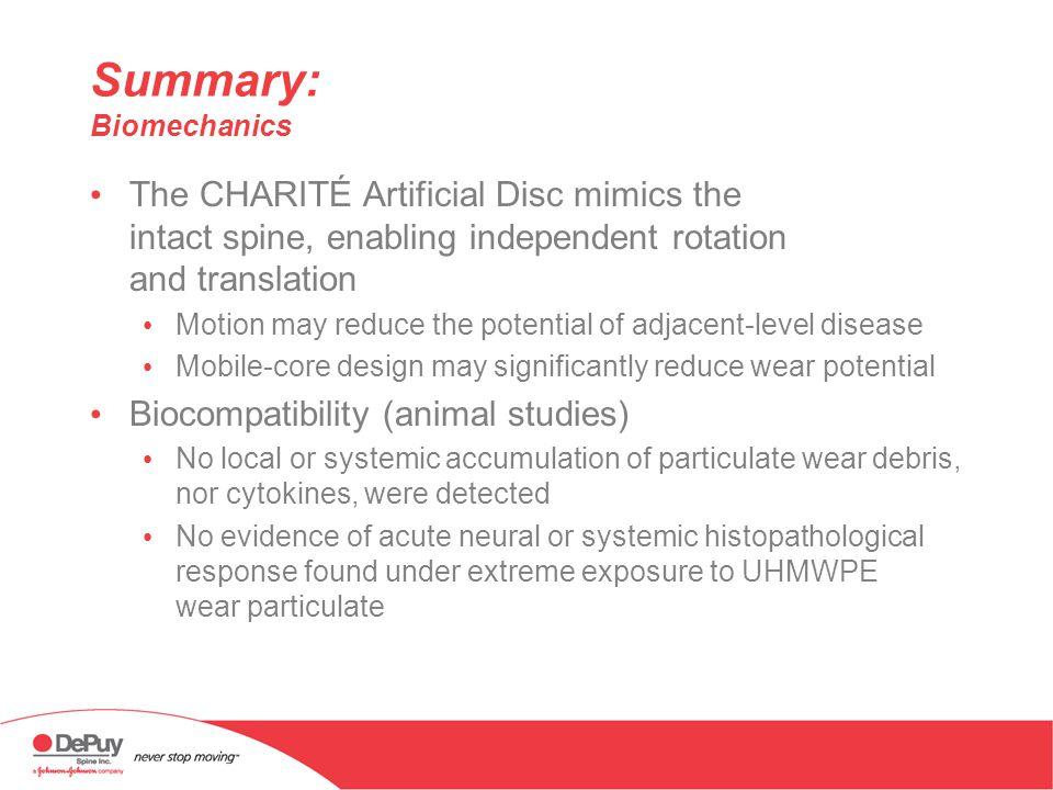 Summary: Biomechanics