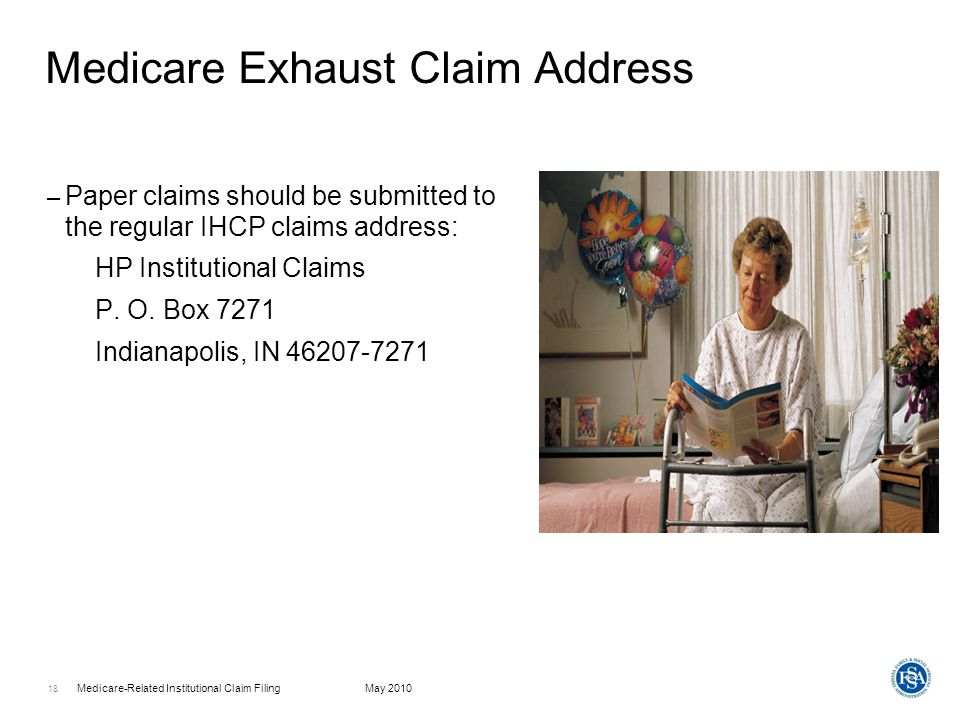 Medicare Exhaust Claim Address