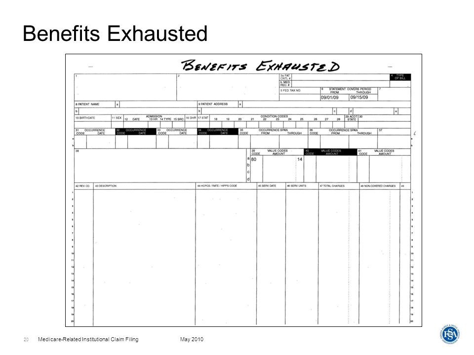 Benefits Exhausted