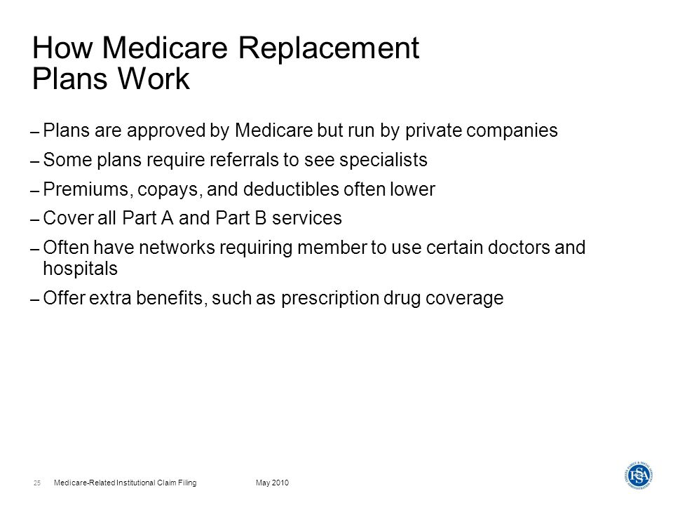 How Medicare Replacement Plans Work