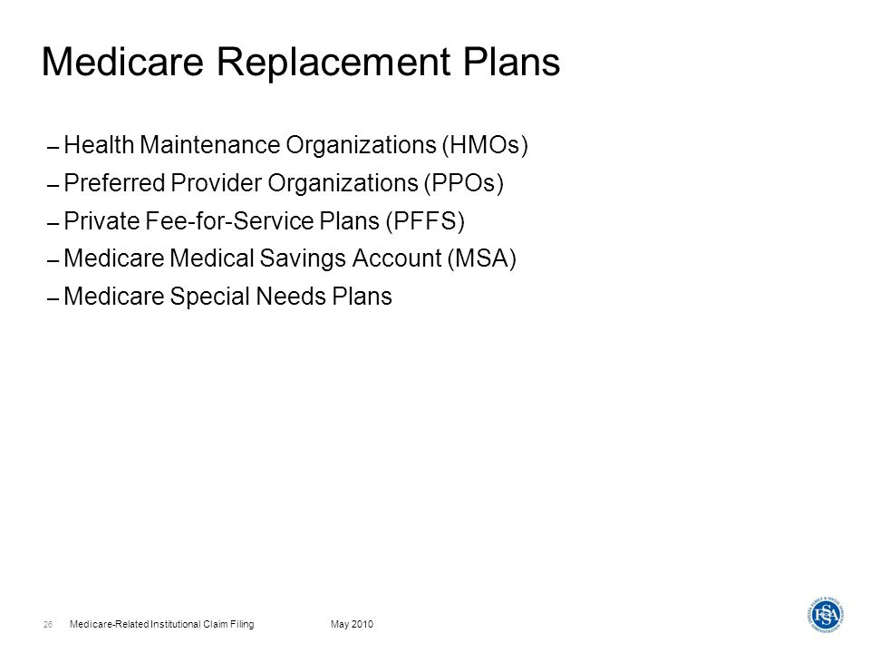 Medicare Replacement Plans