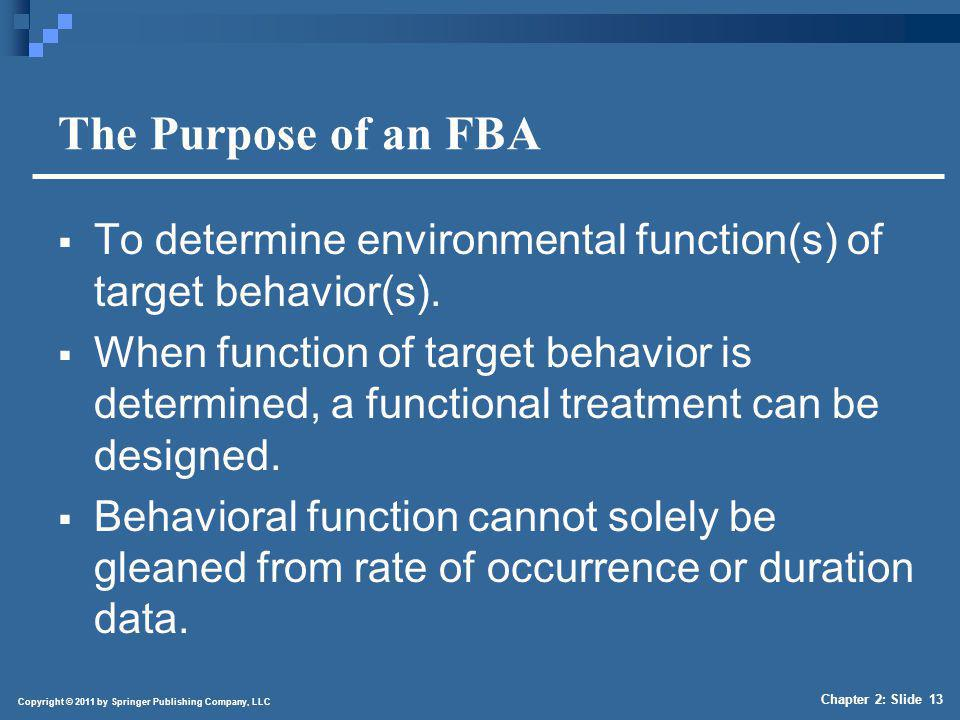 Preview of FTBA Data Collection Methods