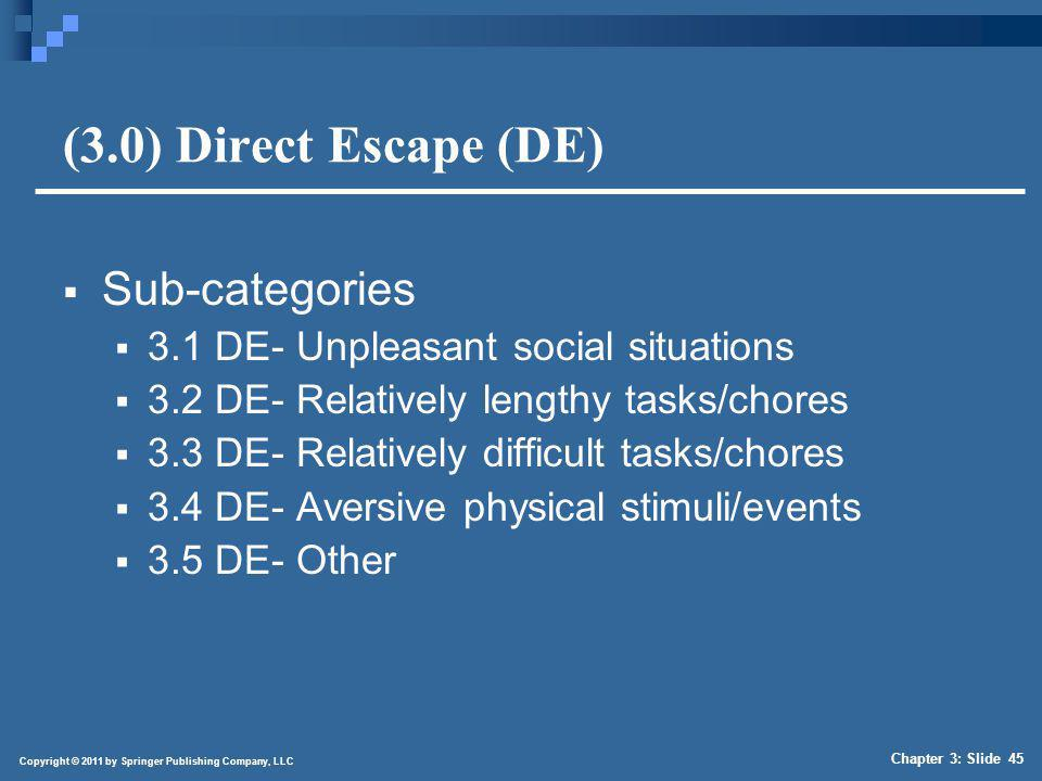 (4.0) Socially Mediated Escape (SME)
