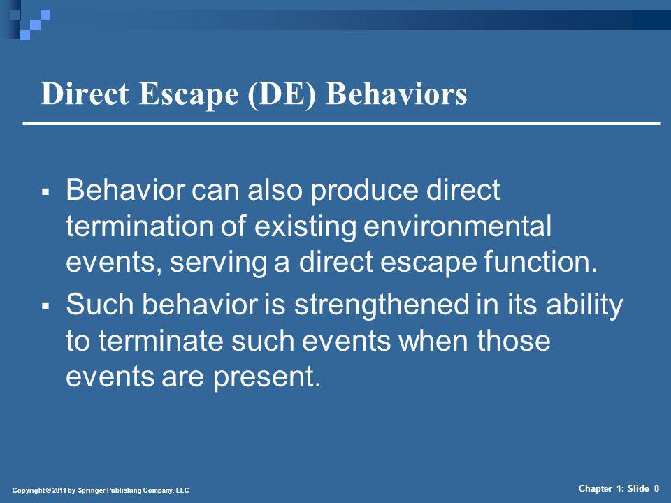 Socially Mediated Escape (SME) Behaviors