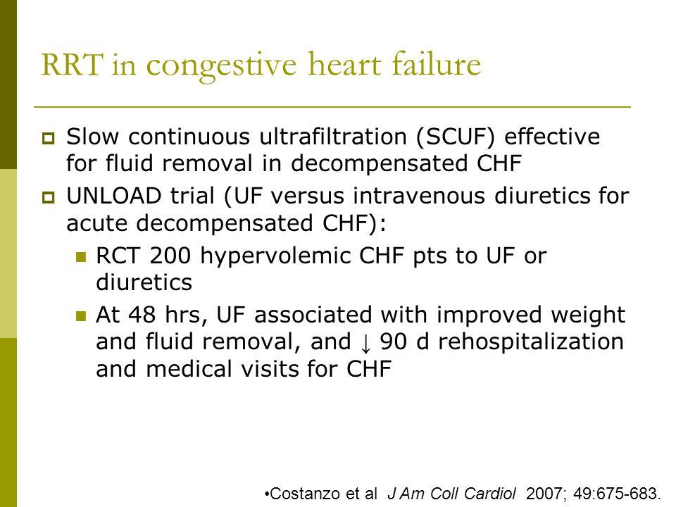 RRT in congestive heart failure