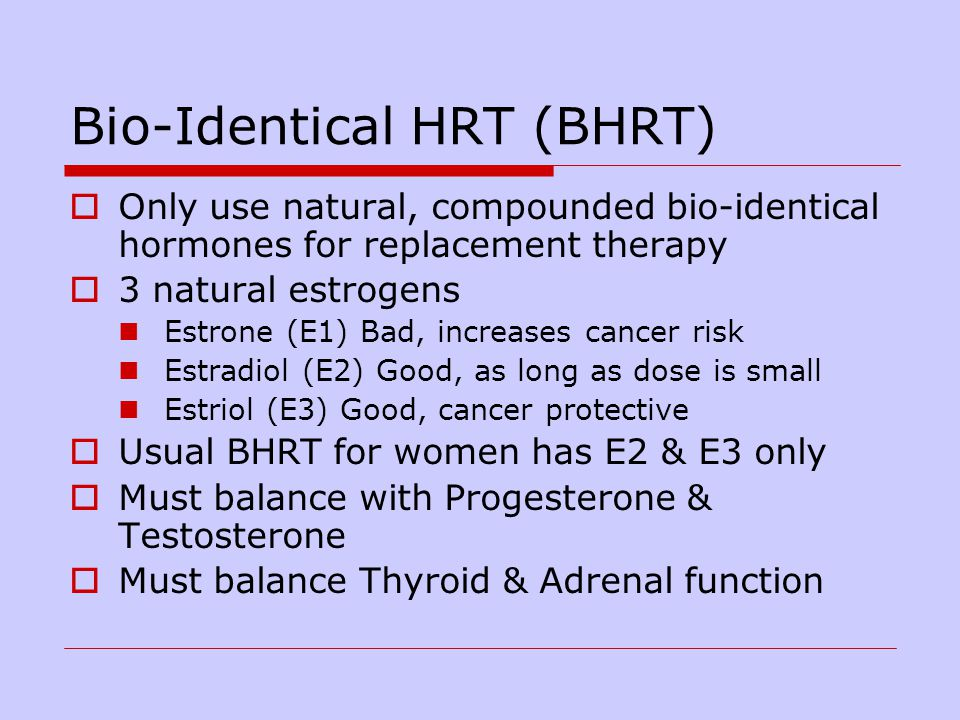 For Bio Identical Hormones Ppt Download