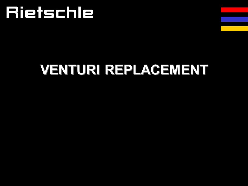 VENTURI REPLACEMENT