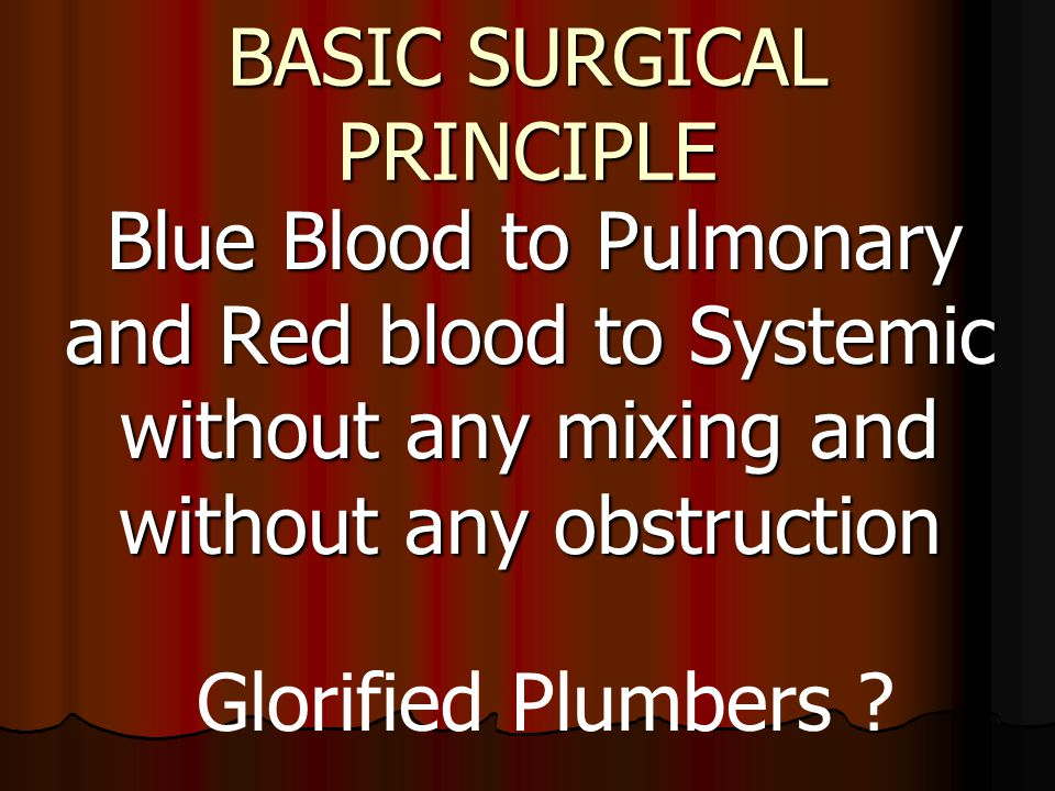 BASIC SURGICAL PRINCIPLE
