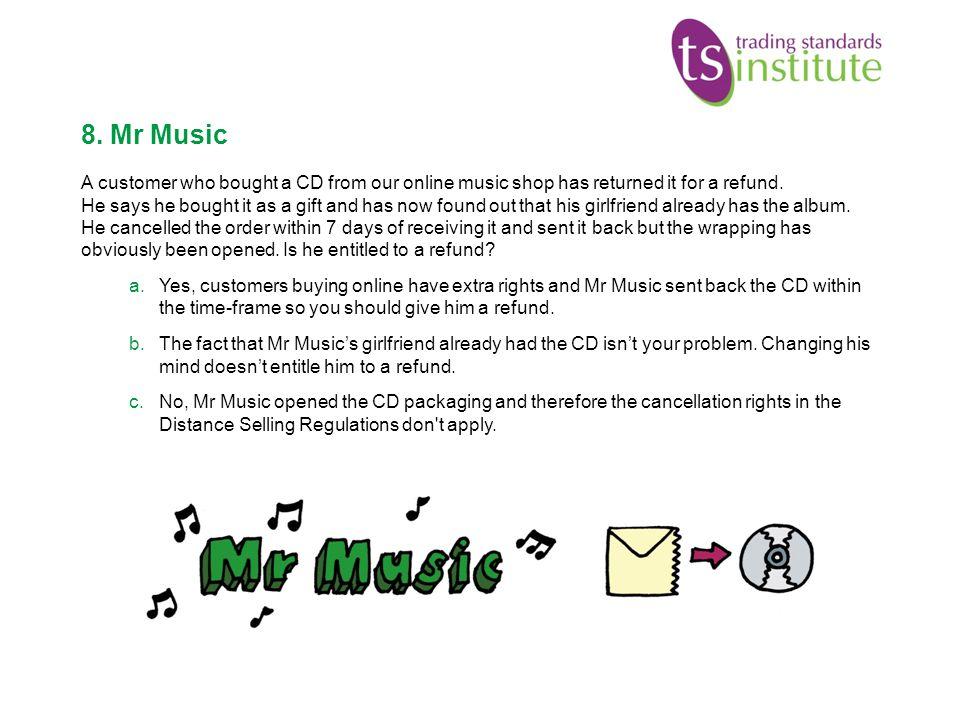 8. Mr Music
