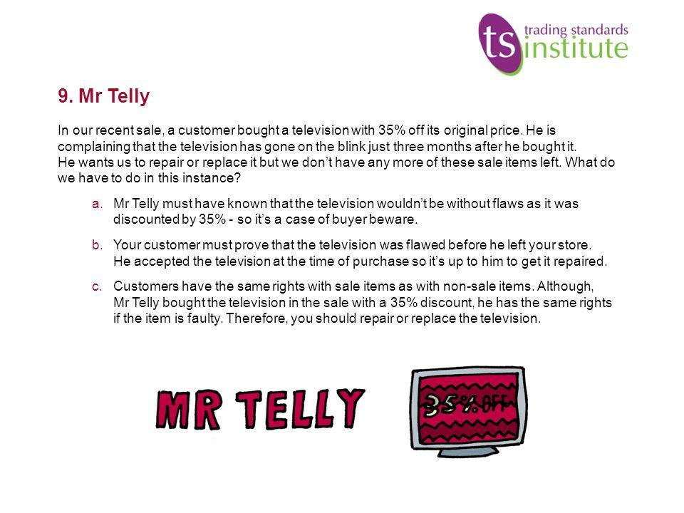9. Mr Telly