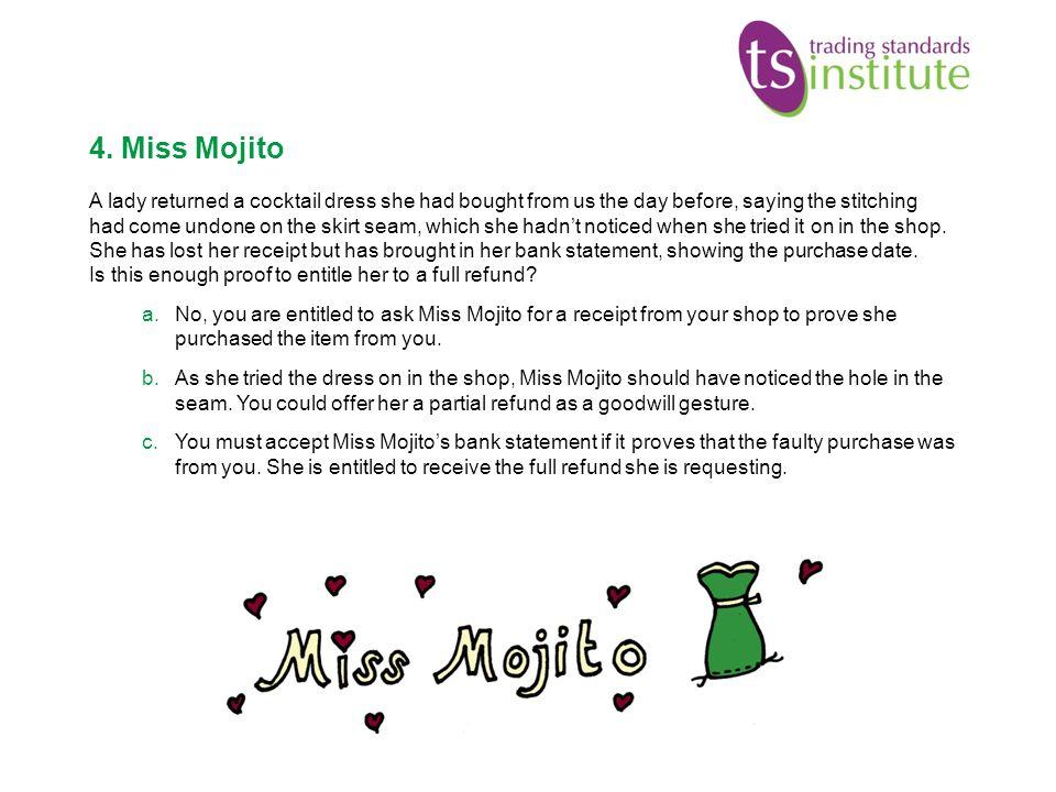4. Miss Mojito
